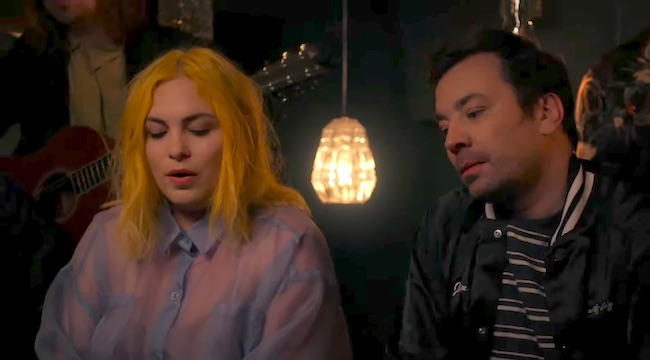. WATCH  Jimmy Fallon Performs With The Head And The Heart