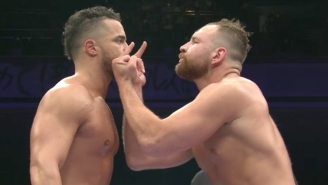AEW's Jon Moxley Made An Impact In His First New Japan Pro Wrestling Match
