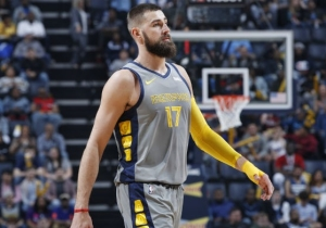 The Grizzlies Will Reportedly Re-Sign Jonas Valanciunas To A 3-Year, $45 Million Deal