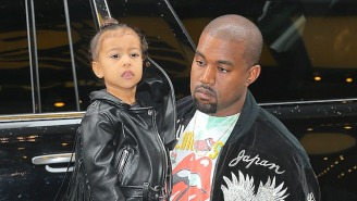 Kanye West's Daughter North West Wants To Be A Rapper