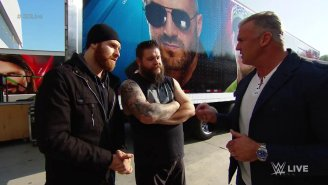 Kevin Owens Doesn't Understand How WWE's Wild Card Rule Works, Either