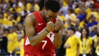 The Raptors Knocked Off The Warriors In Game 6 To Clinch The Franchise's First NBA Title