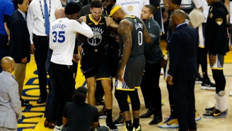 Klay Thompson Will Miss The Remainder Of Game 6 Due To A Knee Injury (UPDATE)