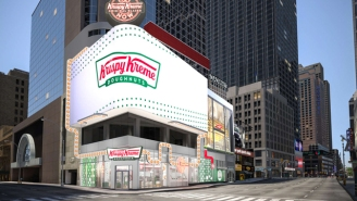 Krispy Kreme Will Open A Huge 24/7 Flagship Store In Times Square In 2020