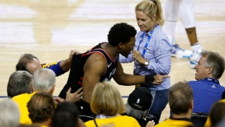 The NBA Banned Warriors Investor Mark Stevens One Year For Shoving Kyle Lowry