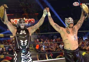 AEW's Young Bucks And Lucha Brothers Faced Off Again At AAA Verano De Escándalo