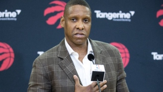 Raptors GM Masai Ujiri Is Being Investigated For Allegedly Shoving A Police Officer