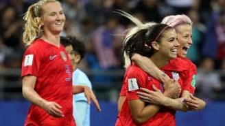 The USWNT Kicked Off Its Women's World Cup Defense With A Record-Setting 13-0 Win Over Thailand