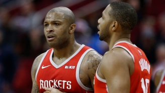 Report: The Rockets Will Trade Any Of Clint Capela, Eric Gordon, And PJ Tucker For A First Rounder
