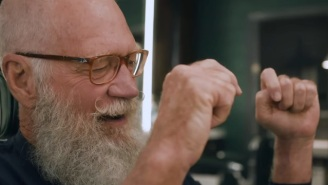 'Queer Eye' Attempts To Rein In David Letterman's Legendary Post-Retirement Beard