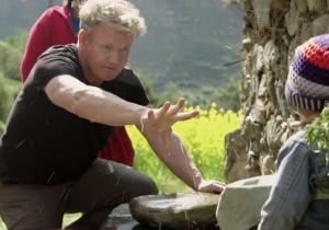 The Trailer For The Controversial 'Gordon Ramsay: Uncharted' Actually Has Us Optimistic