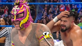 Rey Mysterio Called Andrade 'The Future Of WWE'