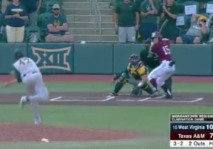 Texas A&M Eliminated West Virginia On A Walkoff Grand Slam