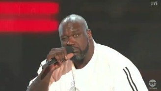 Shaq Opened The NBA Awards Show By Rapping A 'Stir Fry' Remix About The League