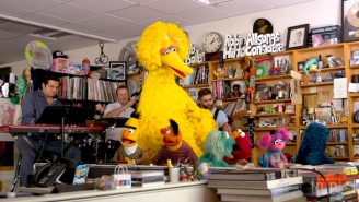 The 'Sesame Street' Cast Visited The NPR Tiny Desk To Give A Charming And Fun Performance