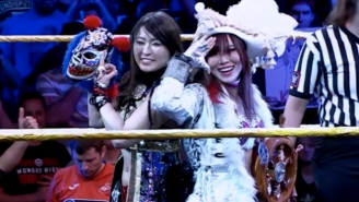 Kairi Sane Credits Io Shirai With Helping Her Through A Medical Emergency