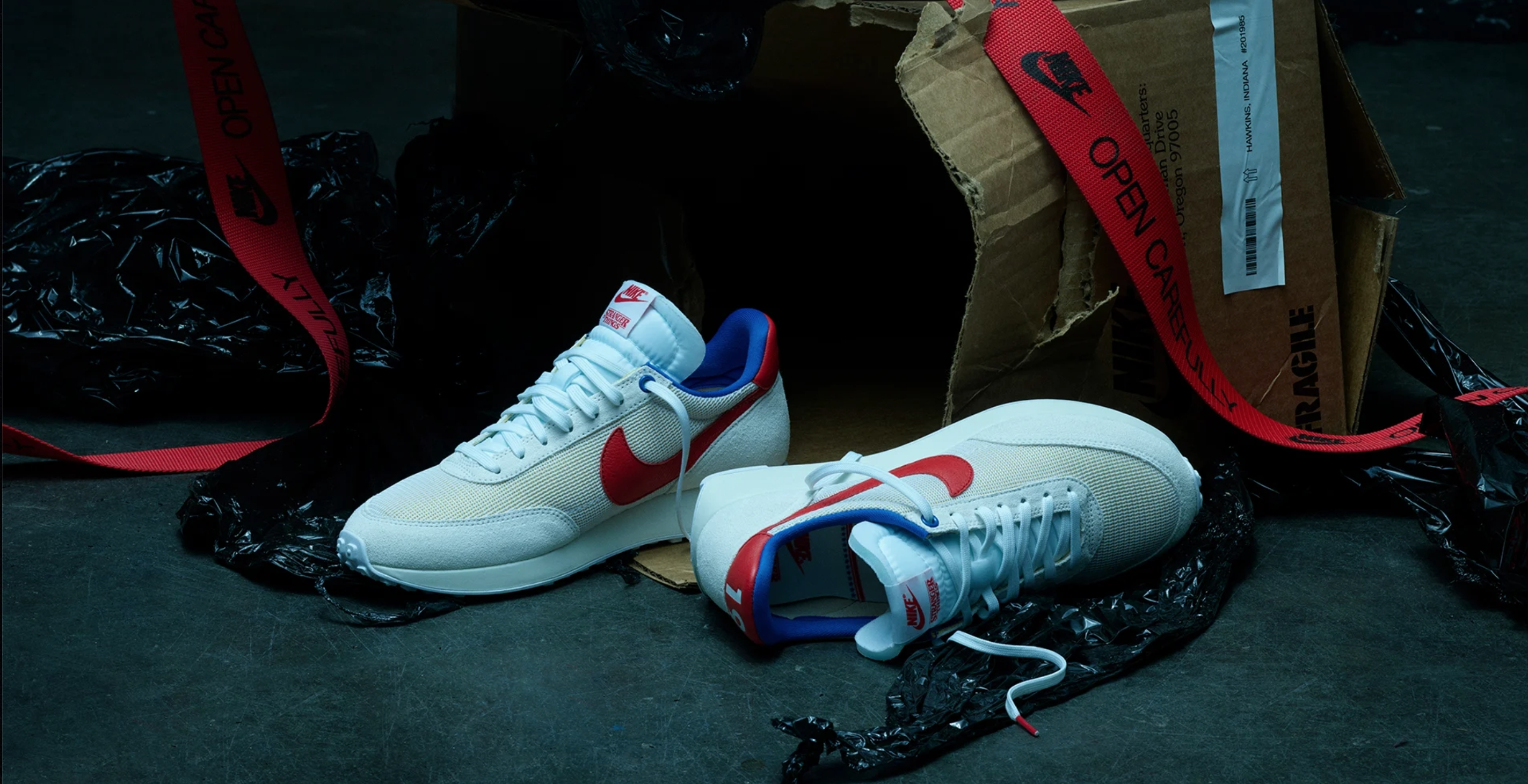 nike collab with stranger things