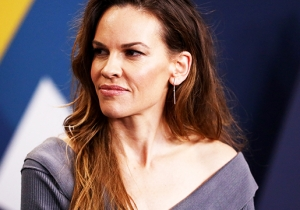Hilary Swank On 'I Am Mother,' The Impact Of 'Boys Don't Cry,' And 'Cobra Kai' Fans Asking Her To Be In The Show