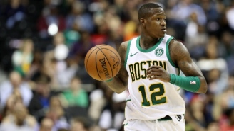 The Knicks Reportedly Don't Believe Terry Rozier Is 'Too Far A Step Down' From Kyrie Irving
