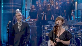 The National Gave A Robust Performance Of 'Oblivions' On 'The Tonight Show'