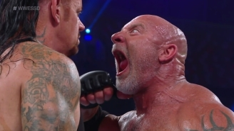 Goldberg Apologized For That Terrible Match Against The Undertaker At Super ShowDown