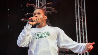 Denzel Curry Went Full Hardcore Punk In His New Spotify Sessions Set
