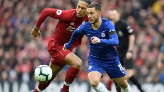 Real Madrid's Eden Hazard And Liverpool's Virgil Van Dijk Will Be On The Covers Of 'FIFA 20'