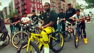 ASAP Ferg Does BMX Tricks In His Guerilla-Style 'Floor Seats' Video