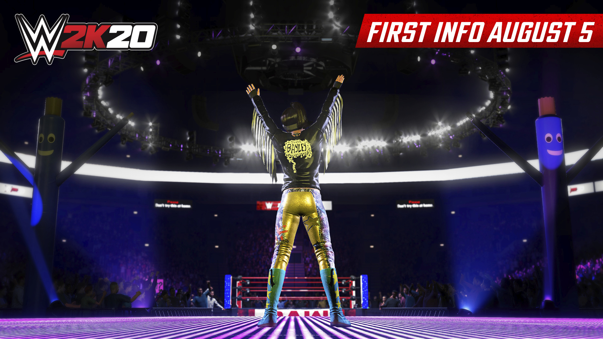 Wwe 2k20 First In Game Images