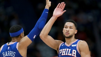 Tobias Harris Says Ben Simmons Hit A Pair Of Threes In A 1-On-1 Game After 'Daring Him To Shoot'