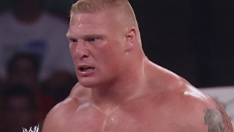 You Won't Believe How Long It's Been Since Brock Lesnar Actually Wrestled On Monday Night Raw