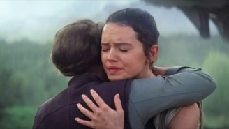Daisy Ridley Has Revealed What Carrie Fisher Whispered During Their 'The Rise Of Skywalker' Hug