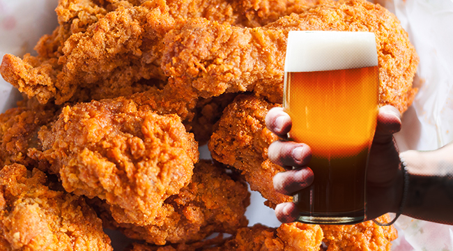 The Best Beer With Fried Chicken Pairing, According To Brewers