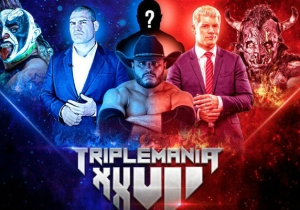 Cain Velasquez, Cody Rhodes, And Psycho Clown Are Teaming Up At AAA Triplemanía