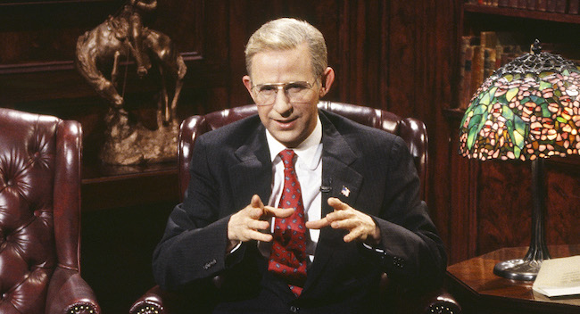 Ross Perot's Death Is Reminding People Of Dana Carvey's Classic Impersonation On 'SNL'