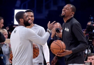 Bobby Portis Believes 'We All Knew That' Kevin Durant And Kyrie Irving Were Headed To Brooklyn