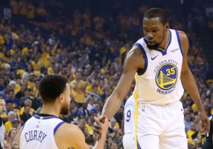 Steph Curry Was Reportedly Flying From China To Meet Kevin Durant When He Picked The Nets