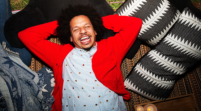 Eric Andre Knows You've Been Using His Reaction Memes To Cope