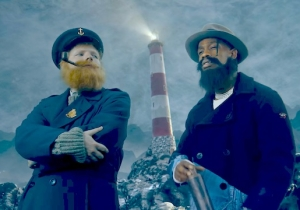 Ed Sheeran And Travis Scott Put Themselves In A Bunch Of Classic Movies For Their 'Antisocial' Video