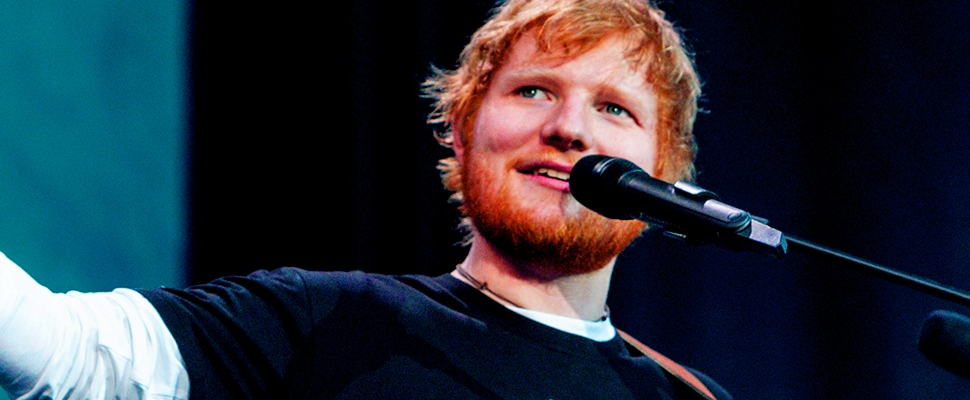 Ed Sheeran Already Runs Pop, And Now He's Sharing The Wealth