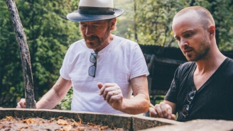 Bryan Cranston And Aaron Paul Are Teaming Up To Sling A Legal Drug — Mezcal