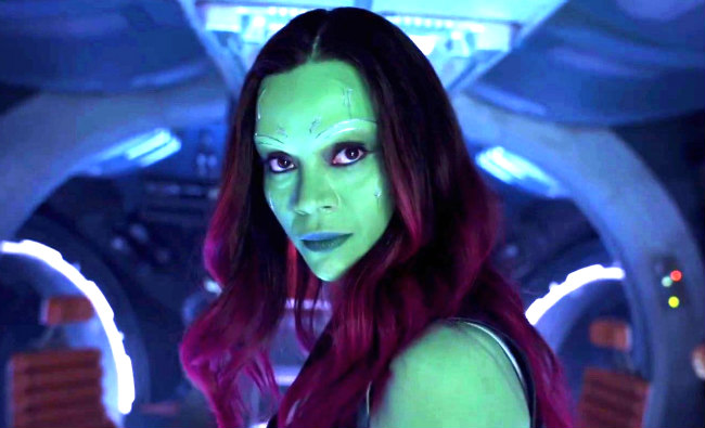 Zoe Saldana Is The Real Winner In Avengers Endgame Vs