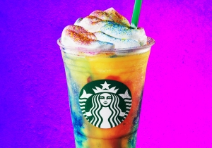 We Tried Starbucks' Tie-Dye Frappuccino And Found It Objectively Awful