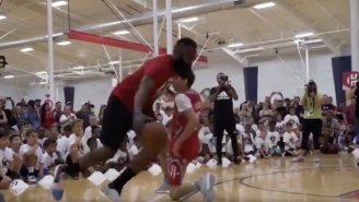 This Is What Happens When A Teenager Tries To Guard James Harden