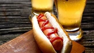 We Asked Bartenders For The Best Beers To Pair With Hot Dogs