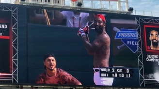 Of Course J.R. Smith's First MLB Celebrity Softball Game At-Bat Was Shirtless