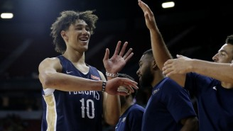 Jaxson Hayes Jumped Over A Defender For A Vicious Summer League Dunk