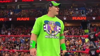 John Cena Opened WWE's Raw Reunion With Emotions, Thuganomics, And Rikishi