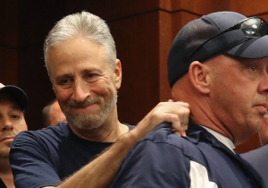 Jon Stewart Celebrated The Passage Of The 9/11 First Responders Bill With An Emotional Address