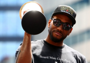The NBA World Thought A California Earthquake Meant Kawhi Leonard Made A Free Agent Decision
